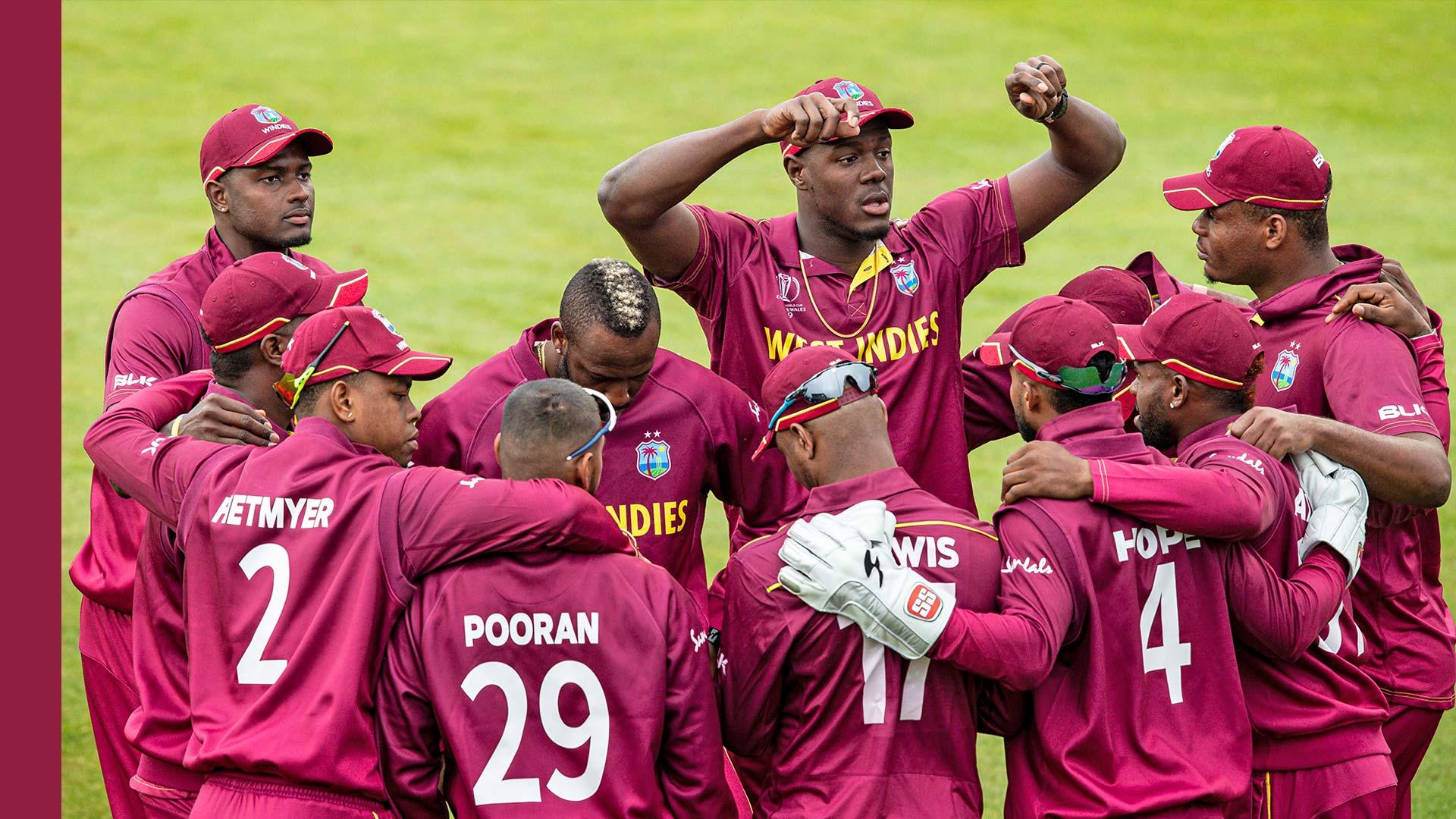 West Indies Cricket World Cup 2019 Teams