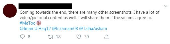 Imam Ul Haq MeToo Controversy