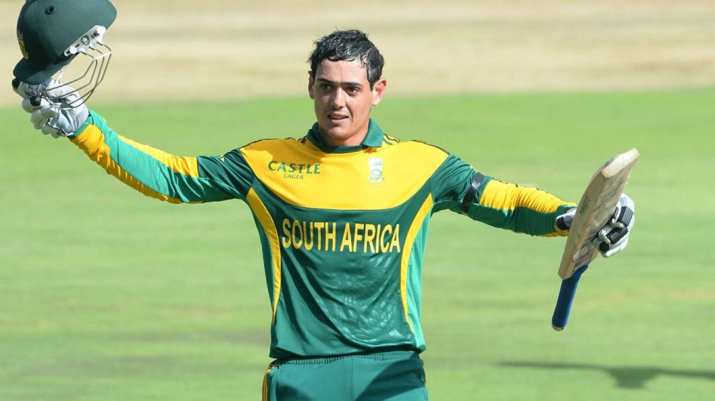 Quinton de Kock Made Most Runs in an Innings as a Wicket-keeper