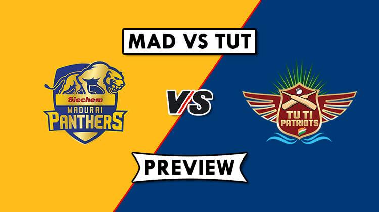 MAD vs TUT Dream11 Prediction, Head to Head & Best Players