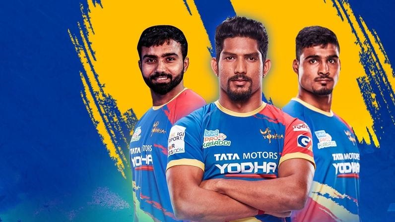 UP Yoddha Team 2019