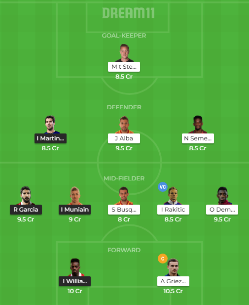 ATH vs BAR Dream11 Match Prediction