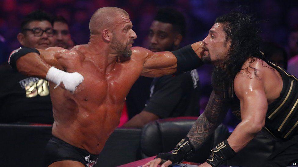 Triple H fight