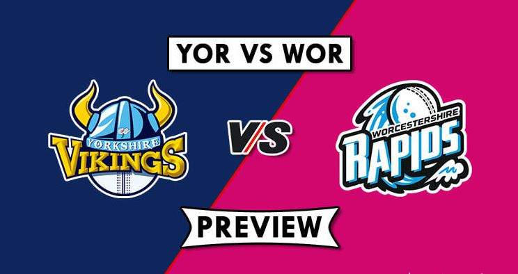 YOR vs WOR Dream11 Prediction, Team Squads & Live Score | T20 Blast 2019