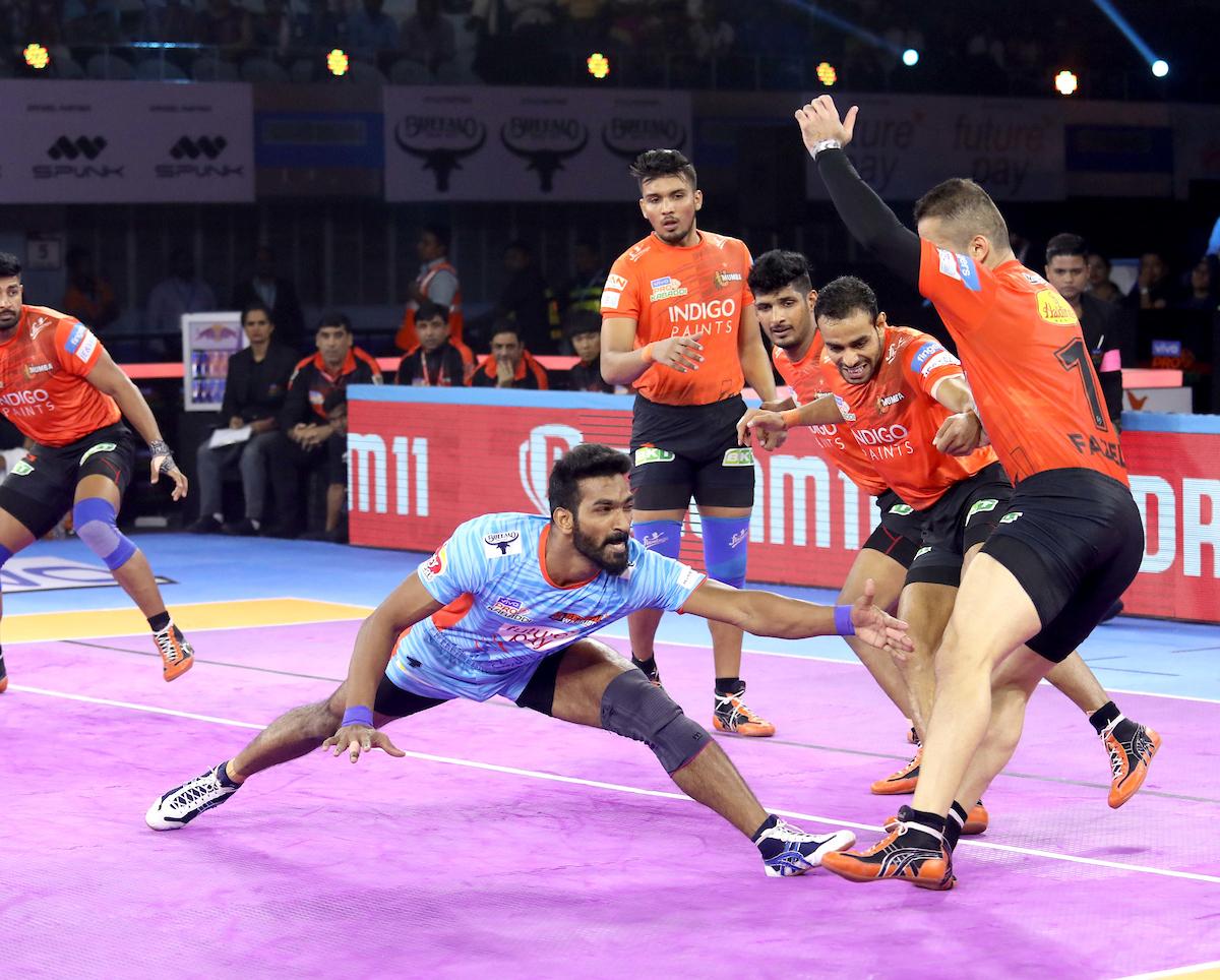Bengal Warriors vs U Mumba