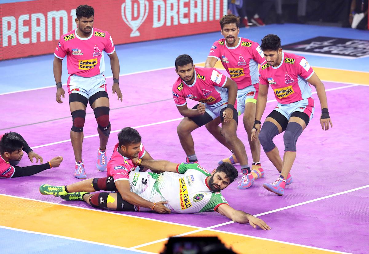 Jaipur Pink Panthers vs Patna Pirates