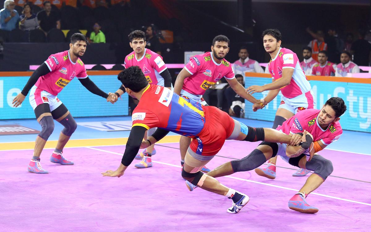 Jaipur Pink Panthers vs UP Yoddha