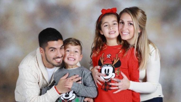 luis suarez family