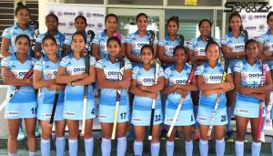 Image result for tri nation series indian women hockey junior