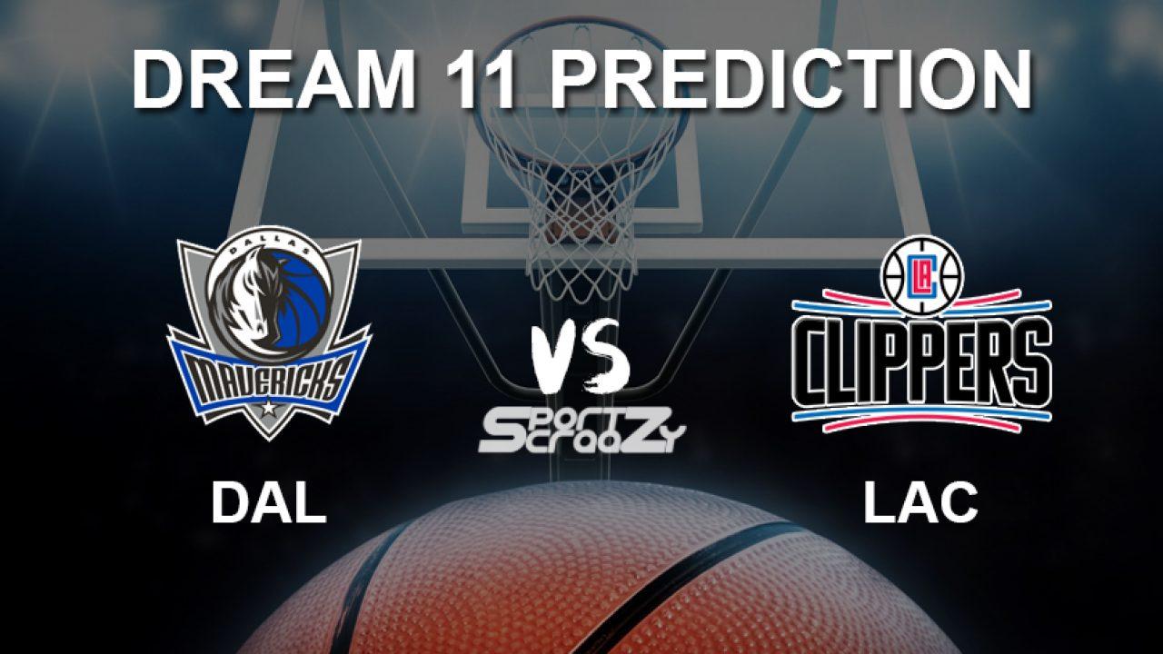 Dal Vs Lac Dream11 Prediction Live Score Dallas Mavericks