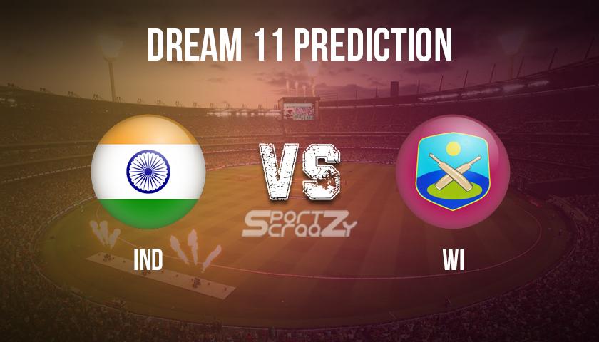 IND vs WI Dream11 Prediction, Live Score & India vs West Indies, Cricket Match Dream11 Team: India vs West Indies ODI -