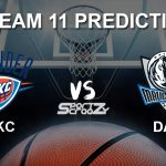 OKC vs DAL Dream11 Prediction, Live Score & Oklahoma City Thunder vs Dallas Mavericks Dream Team: NBA 2019-20 Regular Season