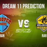 RAR vs RAN Dream11 Prediction, Live Score & Rajshahi Royals vs Rangpur Rangers, Cricket Match Dream Team: Bangladesh Premier League 2019-20, Match-28