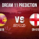 SL-U19 vs EN-U19 Dream11 Prediction, Live Score, & Sri Lanka U19 vs England U19 Cricket Match Dream11 Team: ICC U19 CWC 2020
