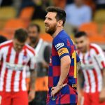 Lionel Messi blames childish mistakes in Super Cup loss