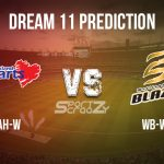 AH-W vs WB-W Dream11 Prediction, Live Score & Auckland Hearts Women vs Wellington Blaze Women, Cricket Match Dream11 Team: Dream11 Super Smash-Women's