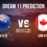 AU U19 vs CAN U19 Dream11 Prediction, Live Score & Australia U19 vs Canada U19 Cricket Match Dream11 Team: Under 19 World Cup