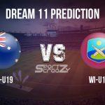 AU-U19 vs WI-U19 Dream11 Prediction, Live Score & Australia U19 vs West Indies U19, Cricket Match Dream11 Team: ICC U19 World Cup