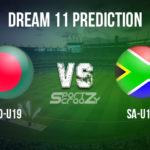 BD-U19 vs SA-U19 Dream11 Prediction, Live Score & Bangladesh Under-19 vs Scotland Under-19 Cricket Match Dream Team: ICC U-19 World Cup 2020, Super League Quarter-final – 03