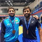 Bajrang Punia, Ravi Kumar claim gold medals in Rome