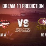 CM-W vs NS-W Dream11 Prediction, Live Score & Canterbury Magicians vs Northern Spirit, Cricket Match Dream Team: Women's Super Smash 2019-20, Match-24