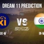 GGXI-W vs IN-W Dream11 Prediction, Live Score & Governor-General's XI v India Women Dream11 Team: Women's Practice T20