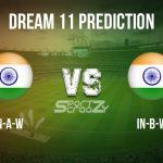 IN-A-W vs IN-B-W Dream11 Prediction, Live Score & India A vs India B Match Dream11 Team: Women's T20 2019-20