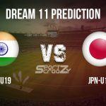 IN-U19 vs JPN-U19 Dream11 Prediction, Live Score & India Under-19 vs Japan Under-19 Cricket Match Dream Team: ICC U-19 World Cup 2020, Group A, Match: 11