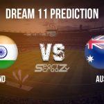IND vs AUS Dream11 Prediction, Live Score & India vs Australia Cricket Match Dream11 Team: 3rd ODI