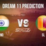 IND vs SL Dream11 Prediction, Live Score & India vs Sri Lanka, Cricket Match Dream11 Team: T20I series