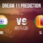 IND vs SL Dream11 Prediction, Live Score & India vs Sri Lanka Cricket Match Dream11 Team: 2nd T20I