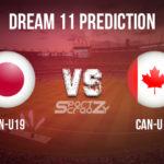 JPN-U19 vs CAN-U19 Dream11 Prediction, Live Score & Japan Under-19 vs Canada Under-19 Cricket Match Dream Team: ICC U-19 World Cup 2020, Plate Playoff Semi-final-02