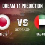 JPN U19 vs UAE U19 Dream11 Prediction, Live Score & Japan U19 vs UAE U19 Cricket Match Dream11 Team: Under 19 World Cup
