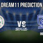 MHB vs INR Dream11 Prediction, Live Score & Mohun Bagan vs Indian Arrows Football Club Match Dream Team: I-League