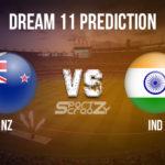 NZ vs IND Dream11 Prediction, Live Score & New Zealand vs India, Cricket Match Dream11 Team: 1st  ODI