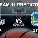 POR vs GSW Dream11 Prediction, Live Score & Portland Trail Blazers vs Golden State Warriors Basketball Match Dream Team: NBA 2019-20 Regular Season
