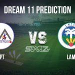 PPT vs LAM Dream11 Prediction, Live Score & Pinatar Pirates vs La Manga Cricket Club Match Dream11 Team: Spanish Regional T10 League