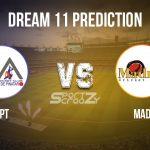 PPT vs MAD Dream11 Prediction, Live Score &Pinatar Pirates vs Madrid, Cricket Match Dream11 Team: Spanish Regional T10 League
