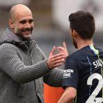Pep Guardiola talks regarding Silva's successor