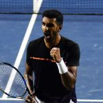 Prajnesh masters Maden to keep Indian challenge alive