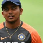 Prithvi Shaw rushed to NCA after suffering shoulder injury
