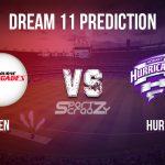 REN vs HUR Dream11 Prediction, Live Score & Melbourne Renegades vs Hobart Hurricane, Cricket Match Dream Team: Big Bash League 2019-20, Match- 47