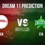 REN vs STA Dream11 Prediction, Live Score & Melbourne Renegades vs Melbourne Stars, Cricket Match Dream11 Team: BBL 2019-20