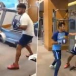 Rishabh Pant shares a funny video of him working out with Yuzvendra Chahal in the gym