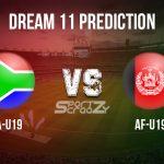 SA-U19 vs AF-U19 Dream11 Prediction, Live Score & South Africa U19 vs Afghanistan U19 Cricket Match Dream11 Team: ICC U19 World Cup