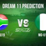 SA-U19 vs NIG-U19 Dream11 Prediction, Live Score & South Africa U19 vs Nigeria U19 Cricket Match Dream11 Team: U19 World Cup
