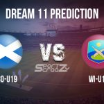 SCO U19 vs WI U19 Dream11 Prediction, Live Score & Scotland U19 vs West Indies U19 Cricket Match Dream11 Team: Under 19 World Cup