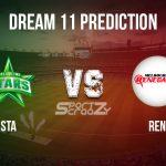 STA VS REN Dream11 Prediction, Live Score & Melbourne Stars vs Melbourne Renegades Match Dream11 Team: BBL 2019-20