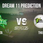 STA vs THU Dream11 Prediction, Live Score & Melbourne Stars vs Sydney Thunder Cricket Match Dream Team: Big Bash League 2019-20, Match- 28