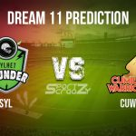SYL vs CUW Dream11 Prediction, Live Score & Sylhet Thunder vs Cumilla Warriors, Cricket Match Dream Team: Bangladesh Premier League 2019-20, Match-30
